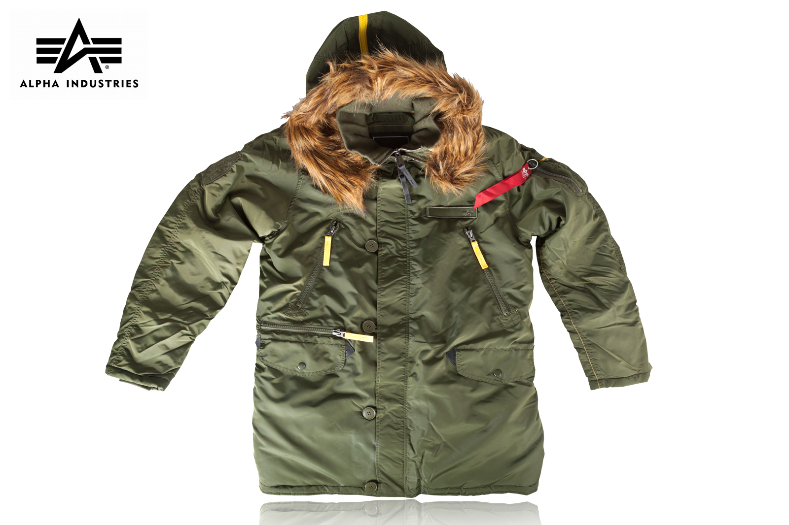 finest selection 19444 8b80f Kurtka Alpha Industries PPS N-3B Parka dark green r. XL ...