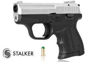 Pistolet alarmowy STALKER M906 chrom kal. do 6 mm