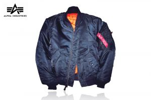 Kurtka Alpha Industries MA-1 Flyers replica blue r. L