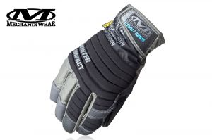 Rękawice Mechanix Wear Winter Impact, czarne r.M
