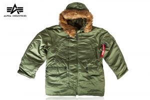 Kurtka Alpha Industries N-3B Parka sage green r. M