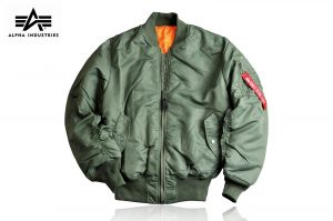 Kurtka Alpha Industries MA-1 Flyers sage green r. XXL